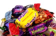 俄罗斯进口紫皮混合装零食